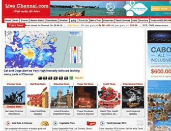 livechennai.com screenshot