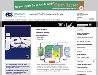 jes.ecsdl.org screenshot
