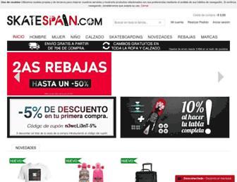 skatespain.com screenshot