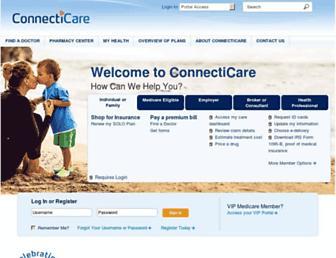 connecticare.com screenshot