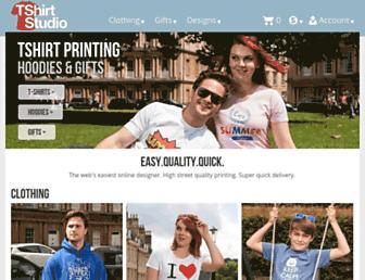 tshirtstudio.com screenshot