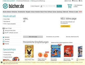 buecher.de screenshot