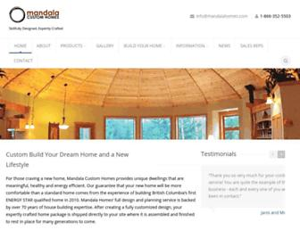mandalahomes.com screenshot