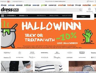 dressinn.com screenshot