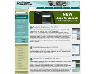 tealpoint.com screenshot
