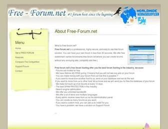 Thumbshot of Free-forum.net