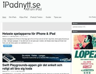 Thumbshot of Ipadnytt.se