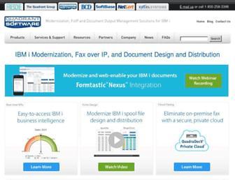 quadrantsoftware.com screenshot