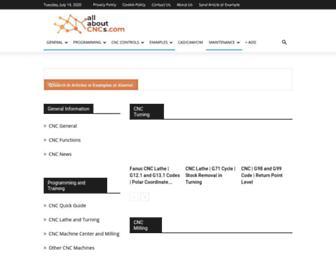 allaboutcncs.com screenshot