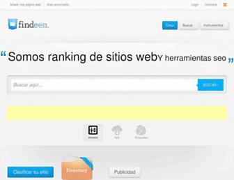 findeen.es screenshot