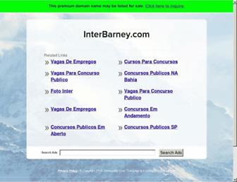 Thumbshot of Interbarney.com