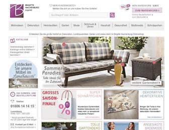 Main page screenshot of brigitte-hachenburg.de