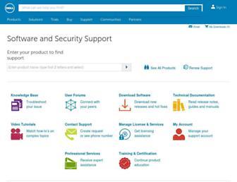 support.quest.com screenshot