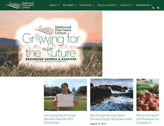 nfu.org screenshot