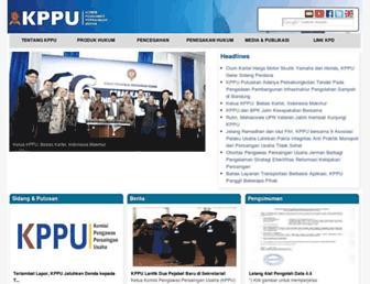 kppu.go.id screenshot