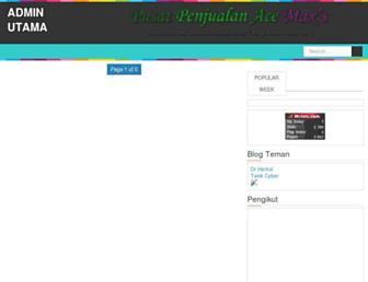 adminutama.blogspot.com screenshot