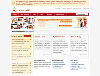 Thumbshot of Myvietnamvisa.com