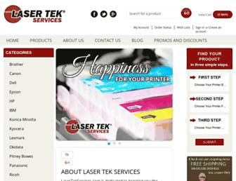 lasertekservices.com screenshot