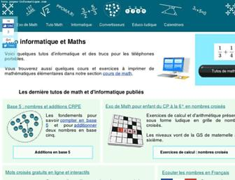 tuto.pages-informatique.com screenshot