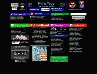 tagg.org screenshot