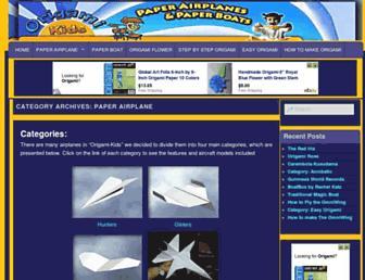 Thumbshot of Origami-kids.com