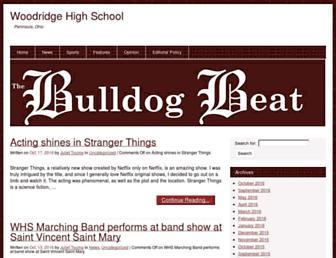 bulldogbeat.org screenshot