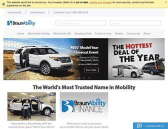 braunability.com screenshot