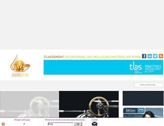 meilleurs-masters.com screenshot