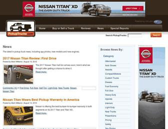 news.pickuptrucks.com screenshot