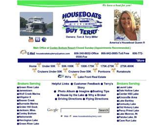 houseboatsbuyterry.com screenshot