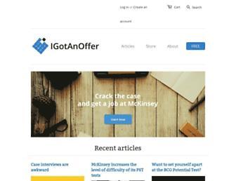 igotanoffer.com screenshot