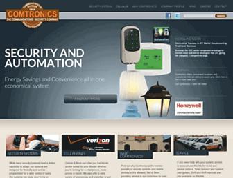 comtronics.com screenshot