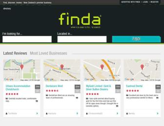 Thumbshot of Finda.co.nz