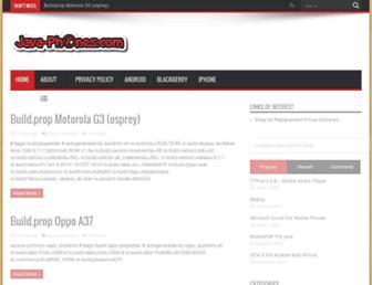 java-phones.com screenshot