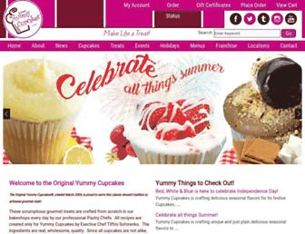 yummycupcakes.com screenshot
