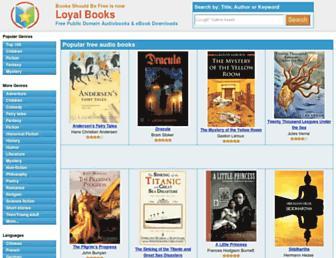 loyalbooks.com screenshot
