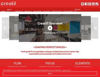 creatif.org.uk screenshot