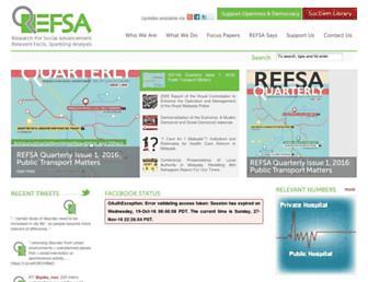 refsa.org screenshot