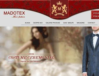 madotex.ro screenshot
