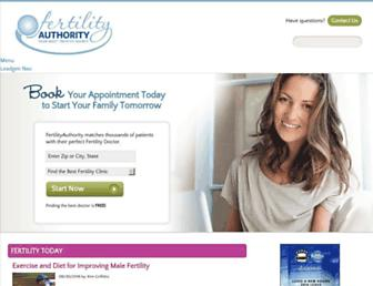 Thumbshot of Fertilityauthority.com