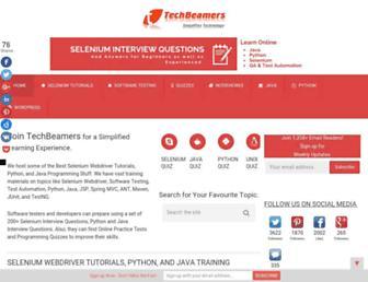 techbeamers.com screenshot