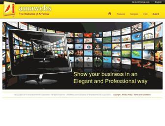 Thumbshot of Amawebs.com