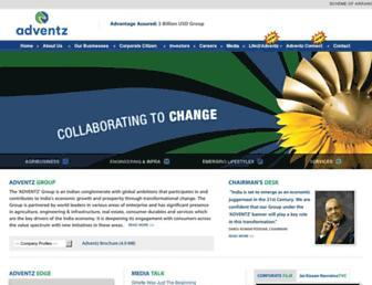 adventz.com screenshot