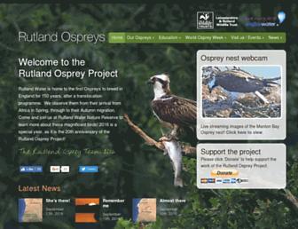 ospreys.org.uk screenshot