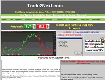 trade2next.com screenshot