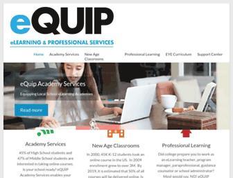 equiplearning.iu17.org screenshot