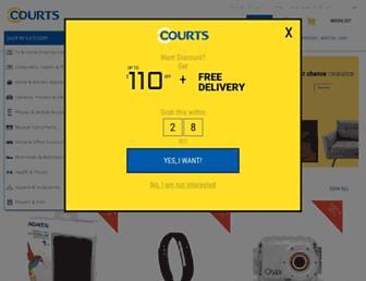 Thumbshot of Courts.com.sg