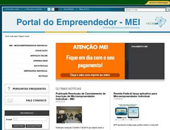 portaldoempreendedor.gov.br screenshot