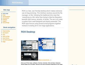rox.sourceforge.net screenshot