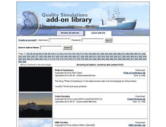 library.qualitysimulations.com screenshot